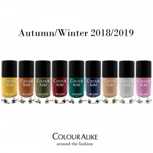 "670 - 678 ""Around the Fashion"" nail polish set"
