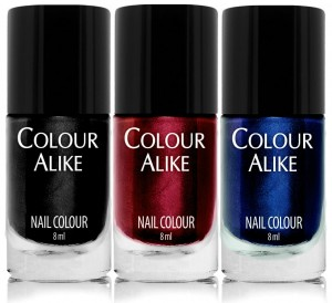 "685 - 687 ""Noir"" - nail polish set"