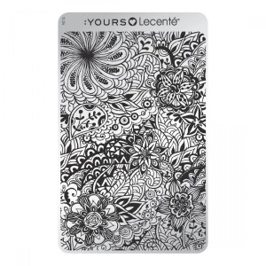 Field of Flowers - stamping plate