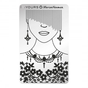 Mannequin - stamping plate