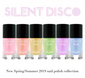 "688 - 693 ""Silent Disco"" nail polish set"