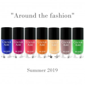 "694 - 700 ""Around the Fashion 2019"" nail polish set"