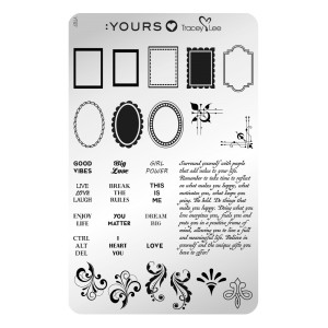 Frame of mind - stamping plate