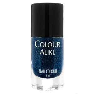 708 Evening Blue - ultra holographic nail polish