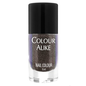 705 Purple Graphite - ultra holographic nail polish